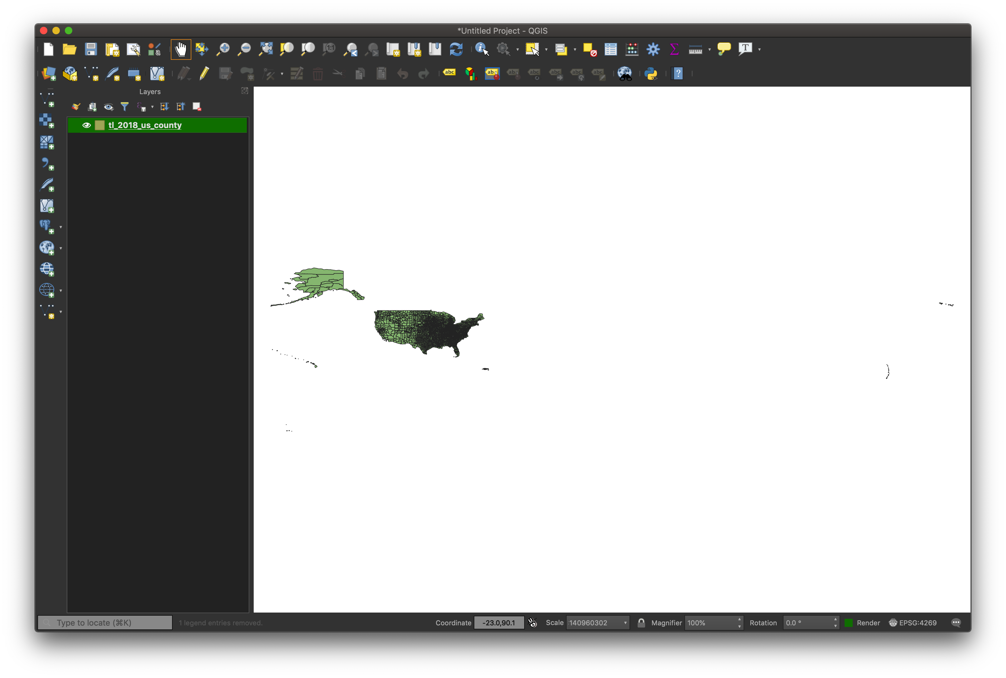 Making a Map with QGIS