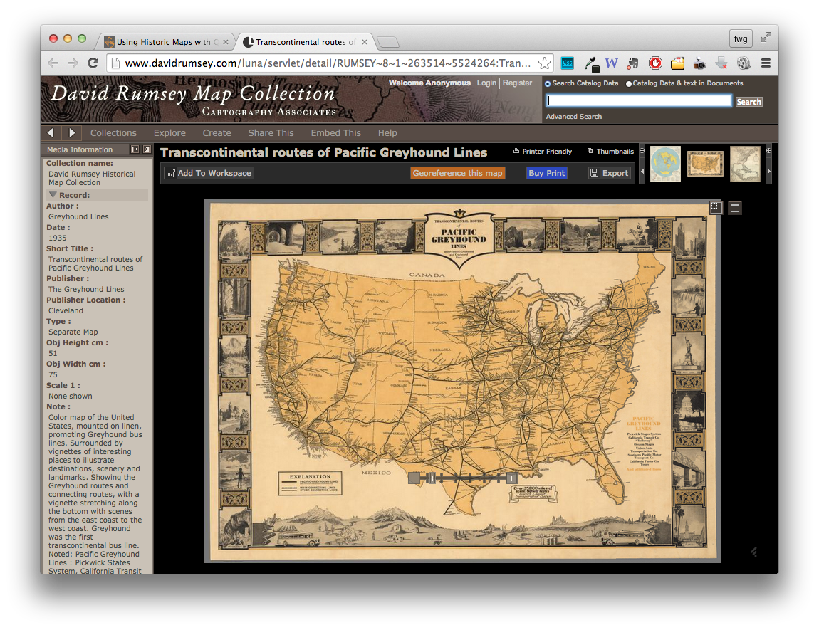 Historic maps + GIS = better historical insight