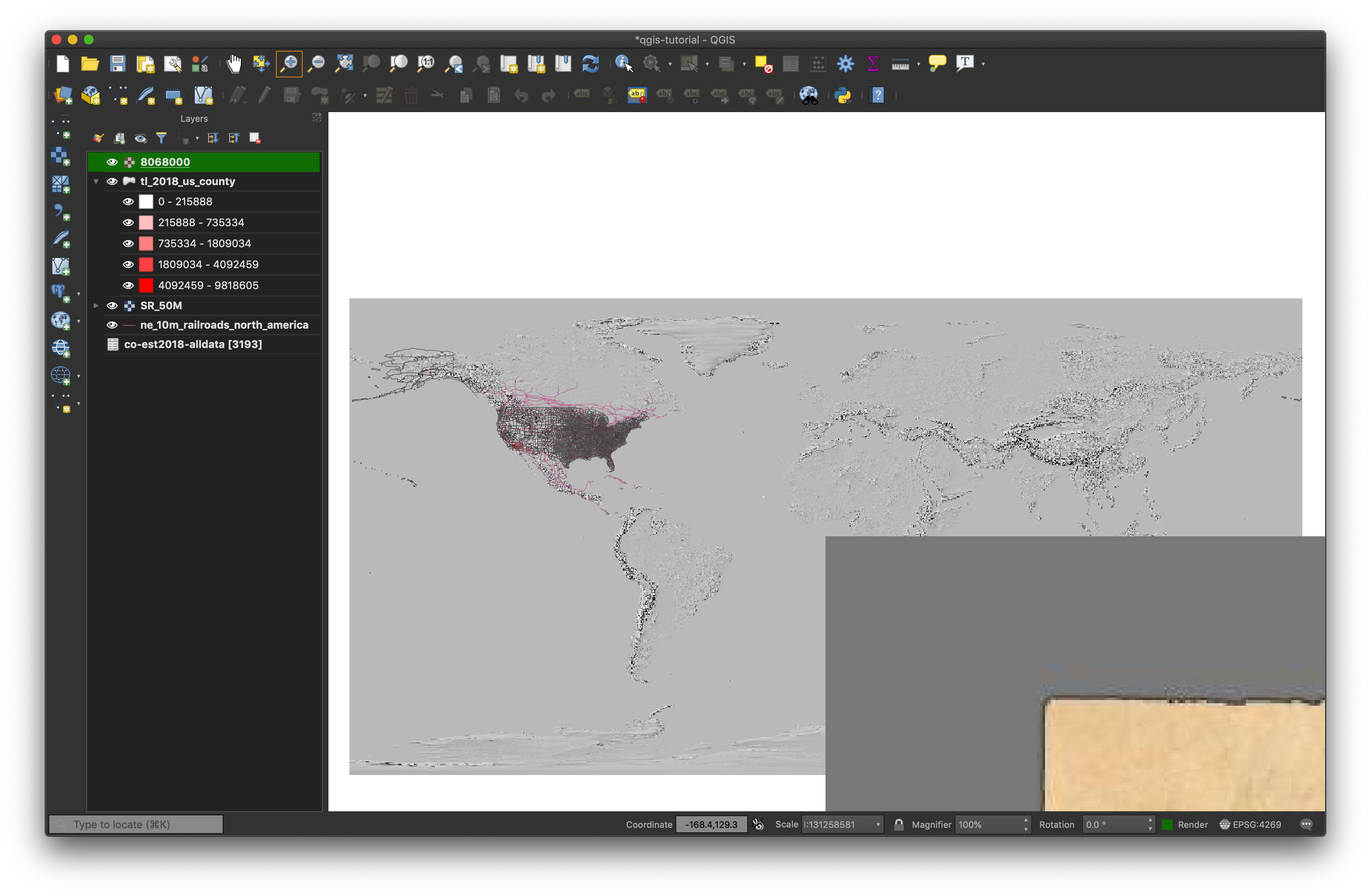 Using Historic Maps with QGIS